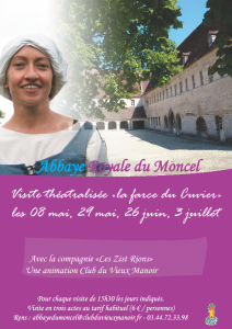 Affiche Royal du Moncel 2011